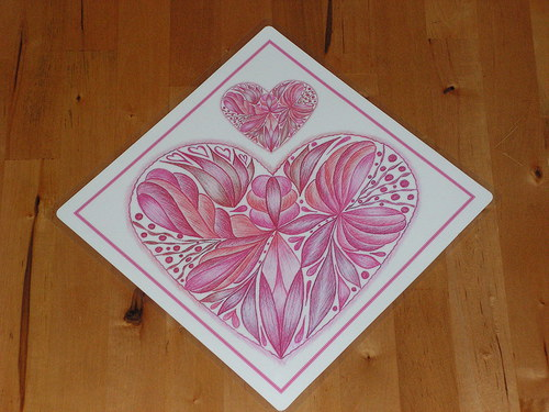 S láskou malované-z lásky ať je darované-růžové