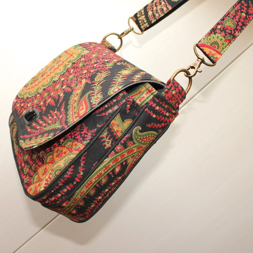 "Kabelka Crossbody ""Holiday in Kashmir\"""