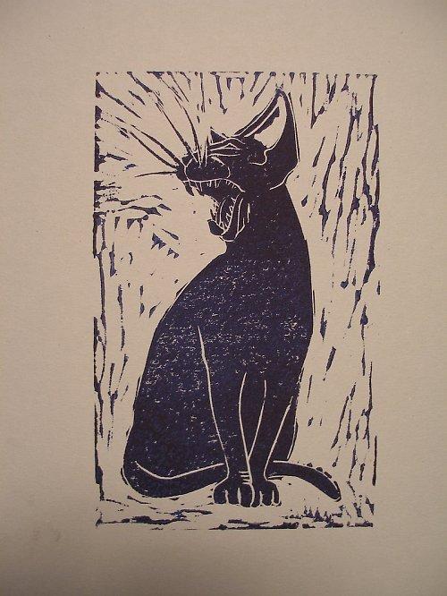 Wild Cat (cca 25x15)