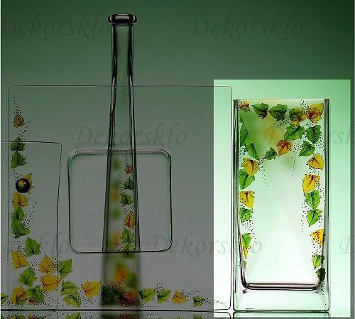 Váza břečťan