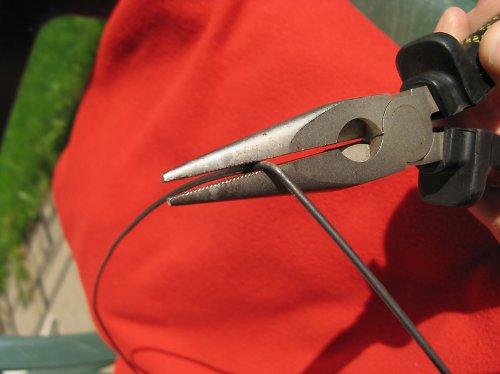 Černý žíhaný drát - průměr 1,6 mm - 1kg (cca 62 m)
