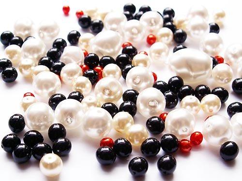 Voskové perle - retro směs