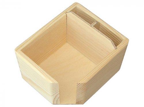 Krabička na bloček a propisovačky DL20