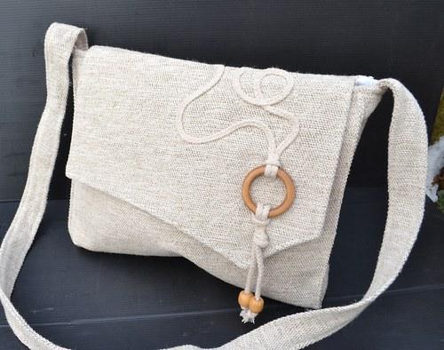 v přírodních odstínech... ..kabelka,  taška