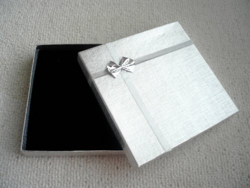 Krabička stříbrná velká