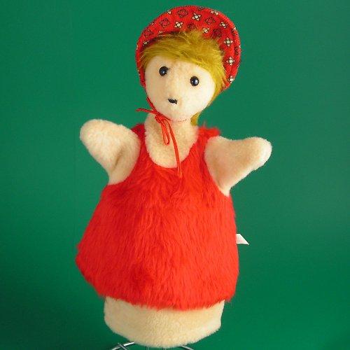 Vnučka Karkulka - autorská hračka