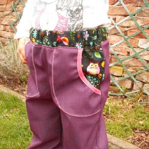 LEHKÉ A PESTRÉ... jarní/letní softshell kalhoty
