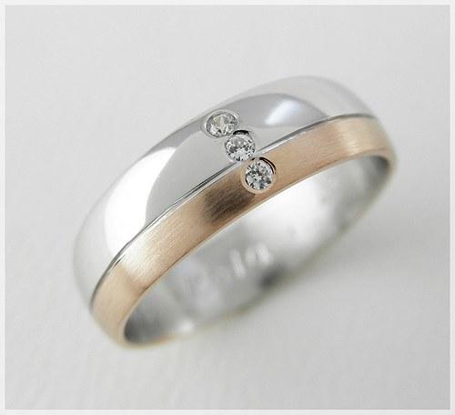 Snubní prsteny S-41