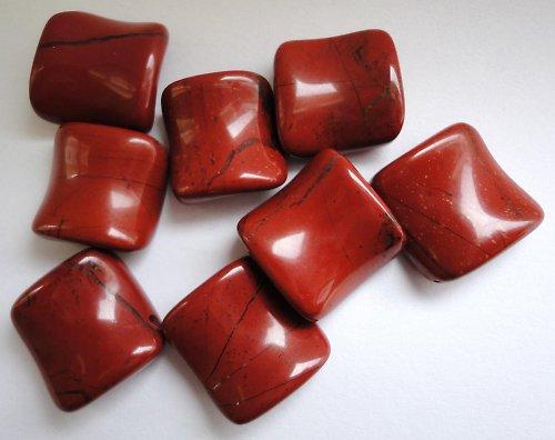 Červený jaspis - čtvereček