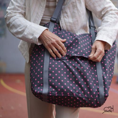 Velká, lehká, skládací taška SKLADEM