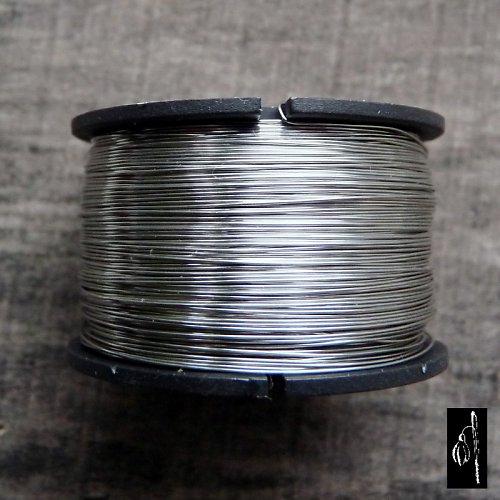 Měkký nerezový drát 0,6, cívka 24 m