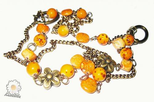 Oranžový  dlouhý