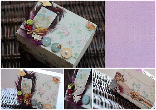 Svatební krabička - ,,Post,,