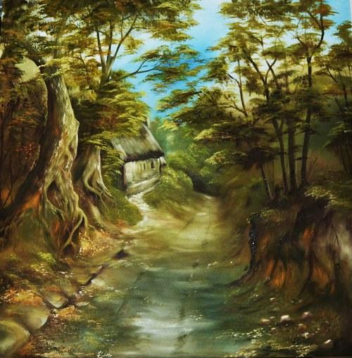 údolí staré soutěsky