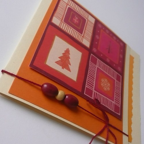 Vánoční přání krémové