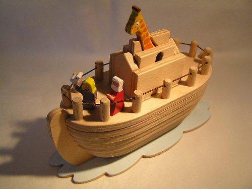 Noemova archa 2 - drevená skladačka pre deti