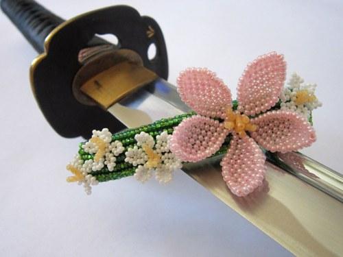 Sakura - spona do vlasů