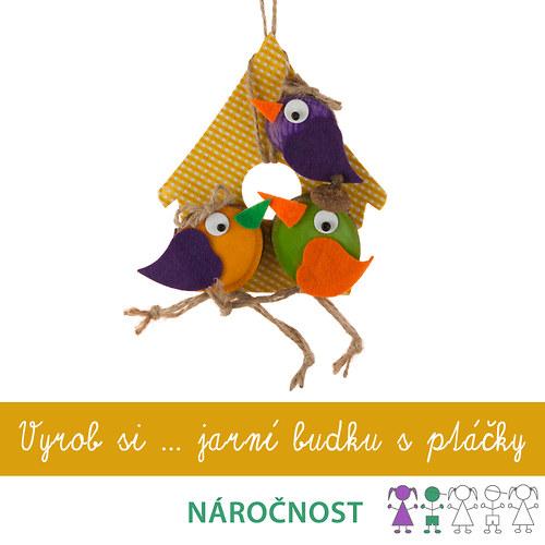 Krasohrátky... Vyrob si budku s ptáčky
