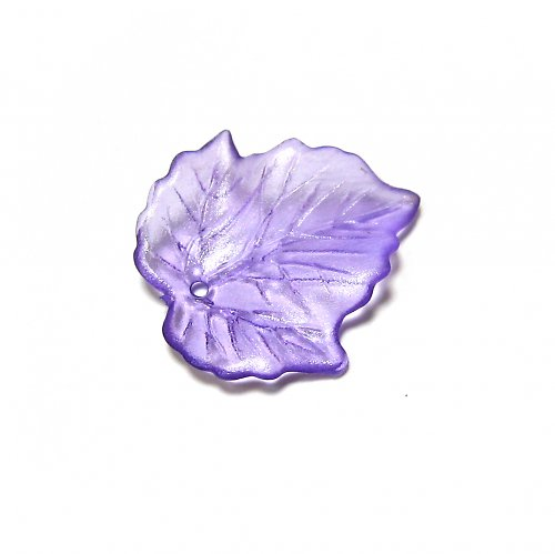 Lístky fialové - 1 ks