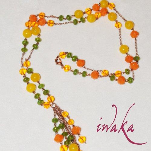 Jarně veselý náhrdelník