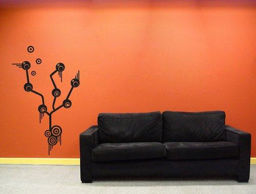 Music tree - samolepka na zeď