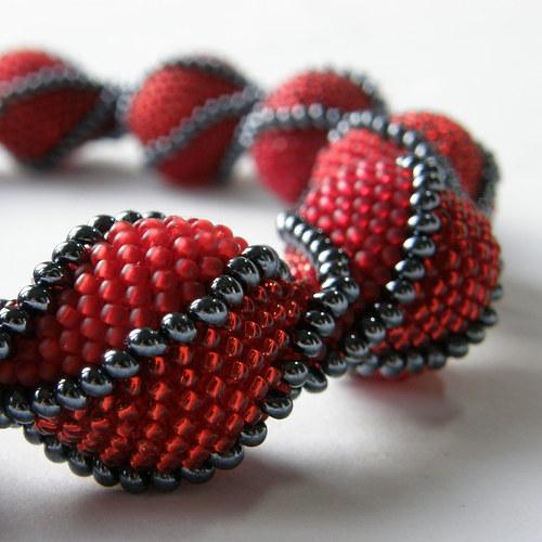 náhrdelník - Ruby