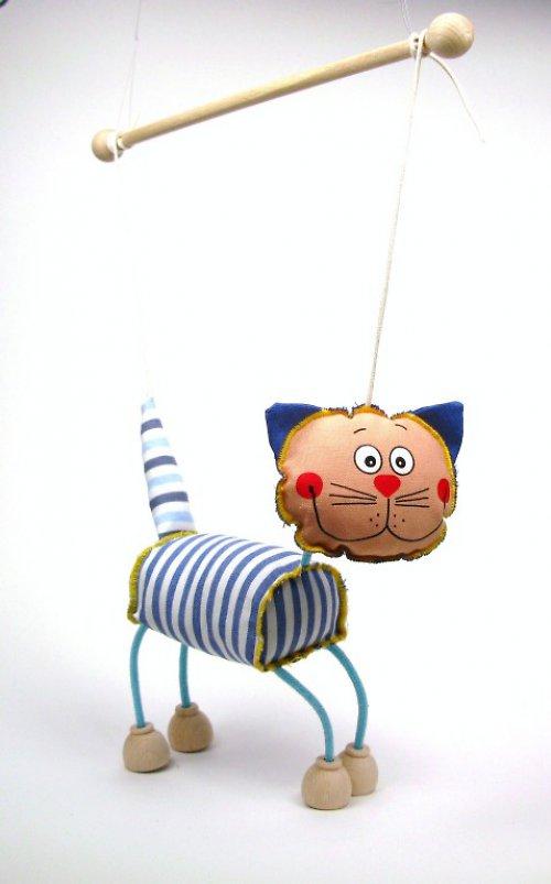 Tm 014 Kočka loutka