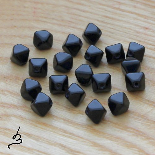 Černé lucerničky - 40 ks