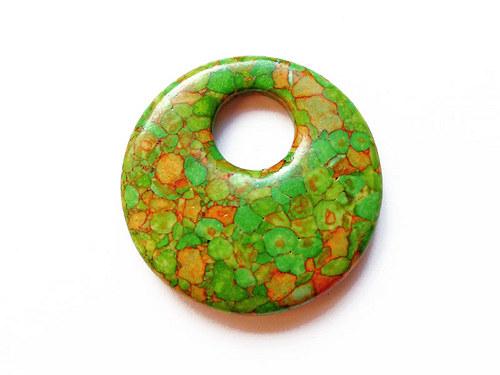 Mramorovaný donut ((PM198))
