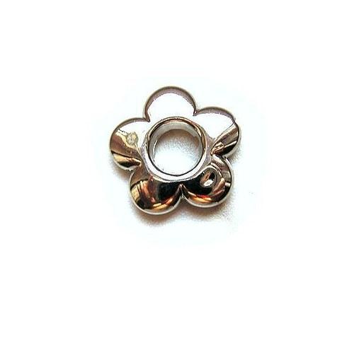 Korálek kytička, 20 mm - 1 kus