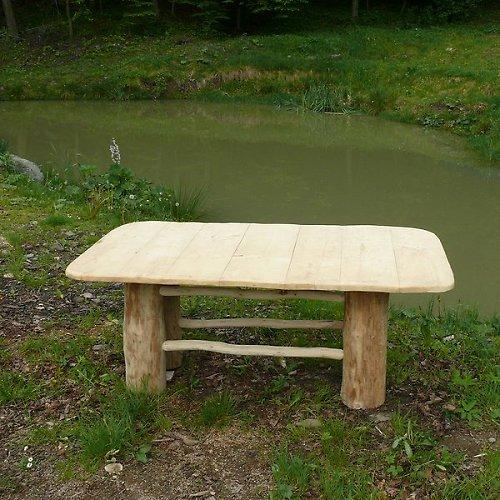 Selský dřevěný stůl pro 6 osob