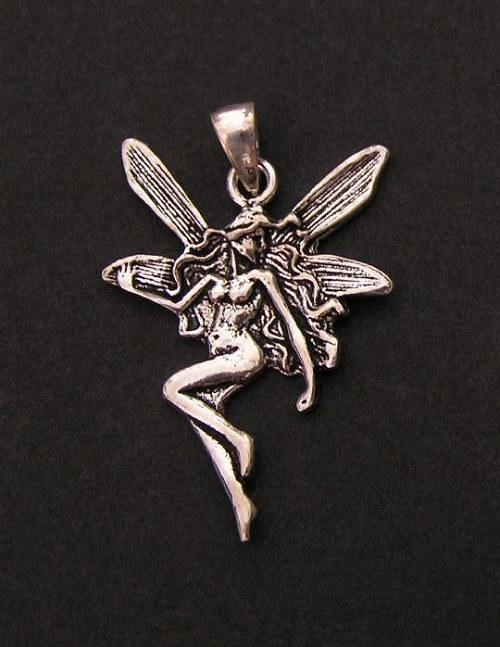 Víla - stříbrný přívěšek