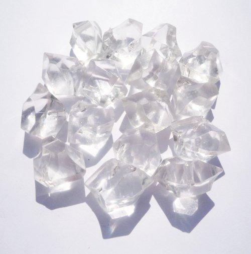 Dekorační plastové krystalky (3 ks)