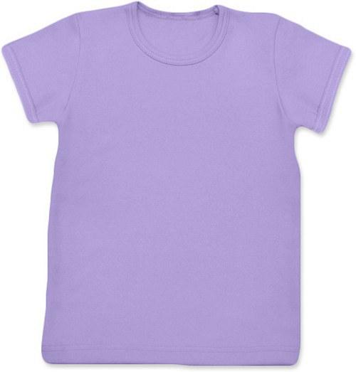 Dětské Uni tričko KR levandulové