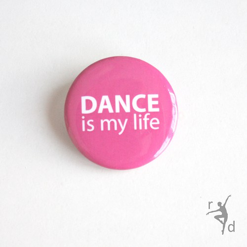 Placka DANCE IS MY LIFE