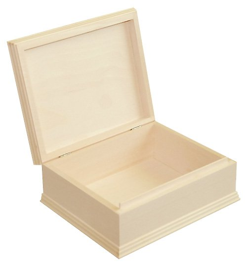 Krabička se zdobným rámem střední DL301