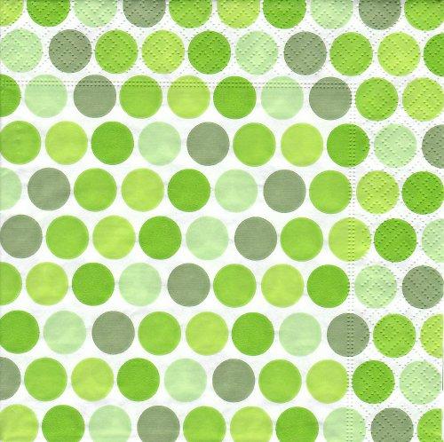 Ubrousek zelený puntík