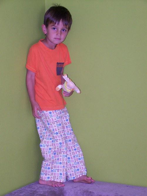 hrací kalhoty