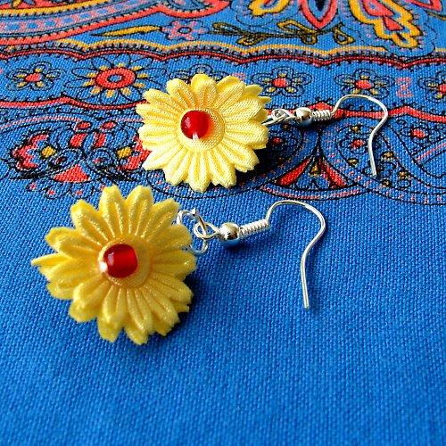 Náušnice květinky....9