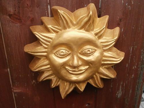 keramické sluníčko