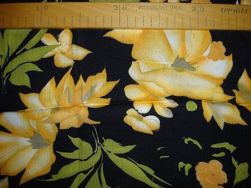 letní  květ 1,3m šíře 130cm