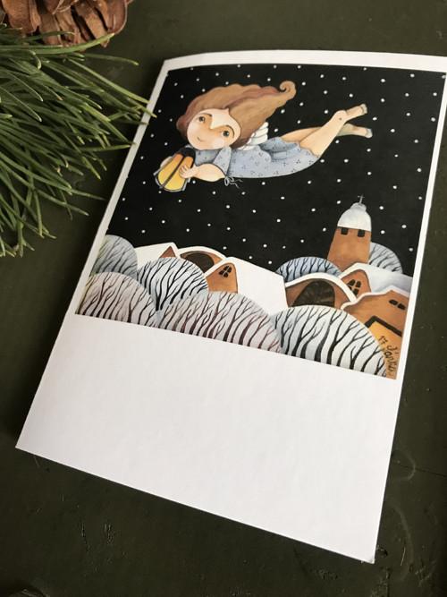 Vánoční přání... motiv č.8