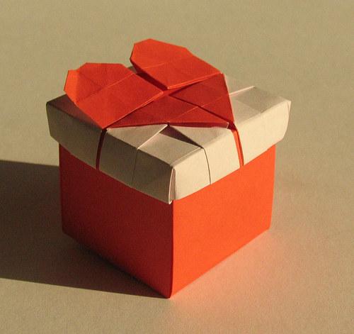Valentýnská krabička