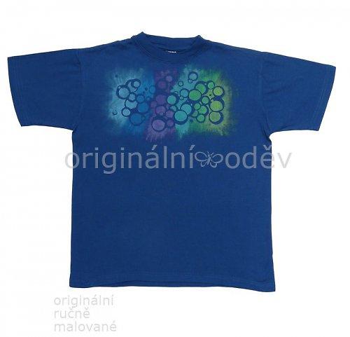 Malované tričko dětské - bubliny