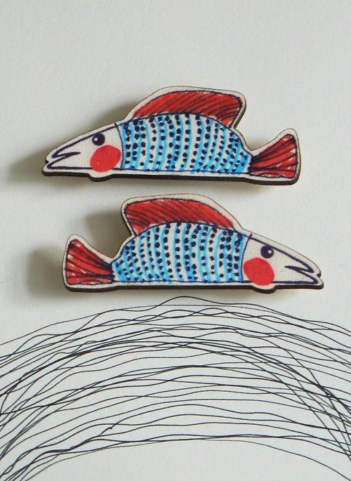 Magnet - veselá rybička
