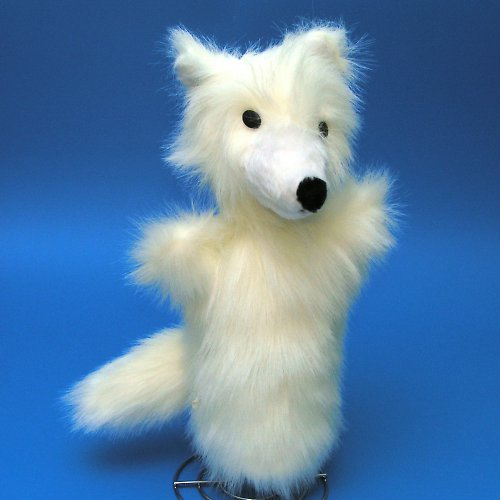 Liška polární - autorská hračka