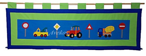 Kapsář - Auta a značky 160 x 50cm
