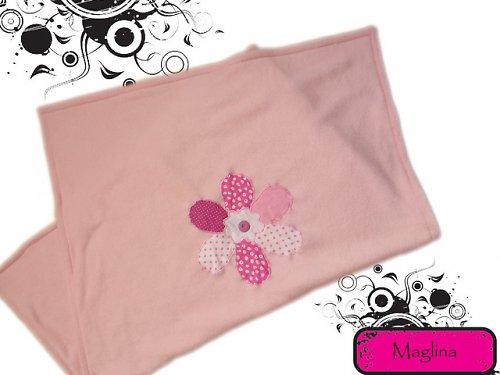 Dětská deka - patchwork flower...pink