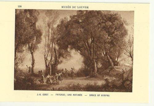 Umělecká pohlednice J.B.Corot