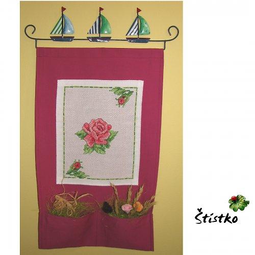 """Originální dekorace na stěnu - \""""Čas růží\"""""""